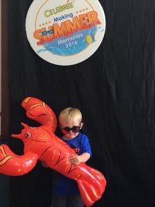 toddler at summer camp