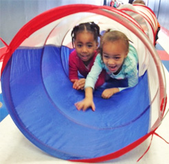 Photo: Celebree-Learning-Centers-Bear-Gross-Motor-Play-Indoors-1