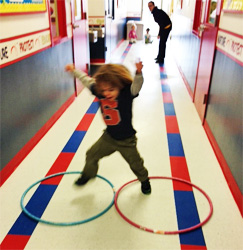 Photo: Celebree-Learning-Centers-Bear-Gross-Motor-Play-Indoors-3