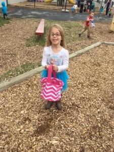 a child having fun outdoor