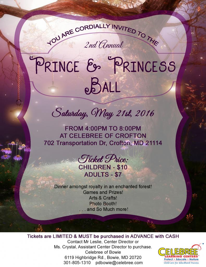 Prince & Princess Ball