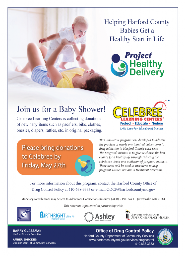Project Healthy Delivery Flyer for Celebree