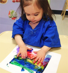 Severna-Park-Celebree-Learning-Centers-Infants-Painting-1