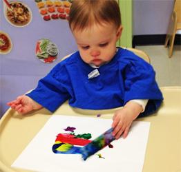 Severna-Park-Celebree-Learning-Centers-Infants-Painting-2