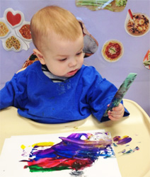 Severna-Park-Celebree-Learning-Centers-Infants-Painting-3