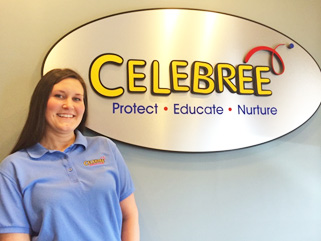 Photo - Stefanie Shurer, Training Coordinator for Celebree Learning Centers