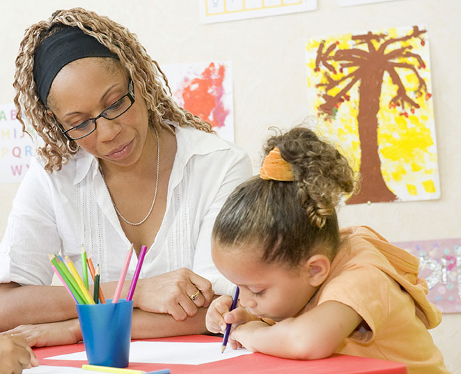 We help nurture children in a safe, stimulating and positive environment