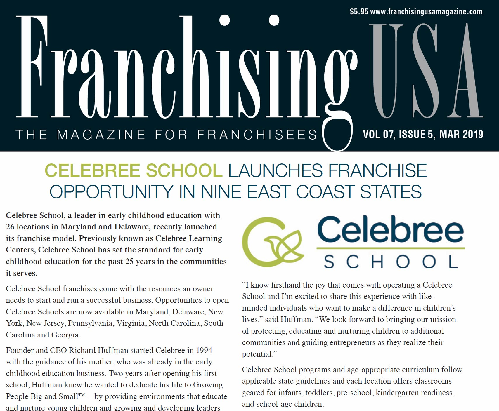 Franchising USA March 2019